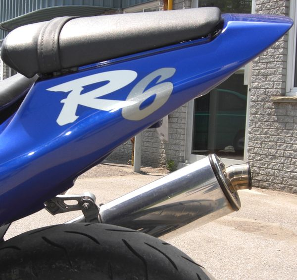 undertail R6 YZF 600