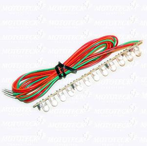 CV12 Led, 3 wires connexion, 1/pc