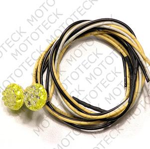 T9 Led, 3 wires connexion, 2/pcs