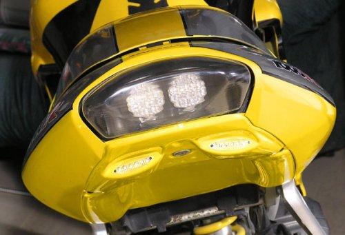 Mototeck Innovation Mini tail rear view, VTR 1000 98-05