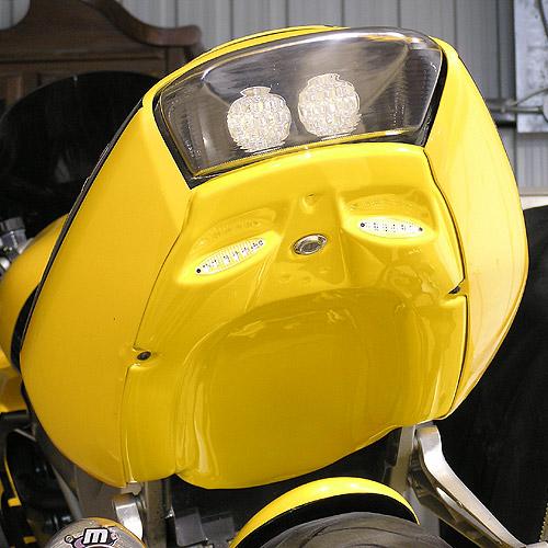 Mototeck Innovation Mini tail rear seat lock view, VTR 1000 98-05