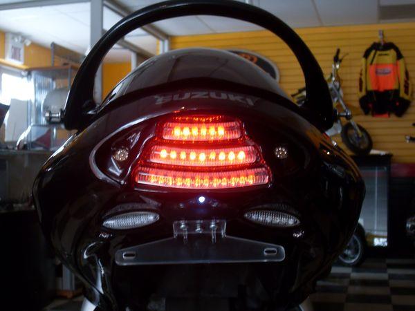 New F.I.M. Design Hayabusa Undertail (running light on)