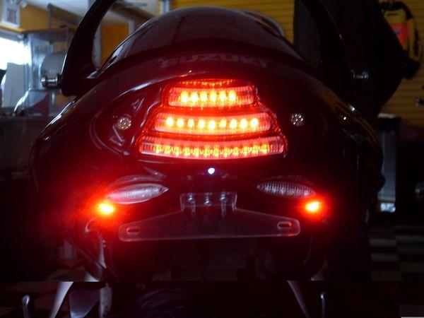 New F.I.M. Design Hayabusa Undertail ( break light on)