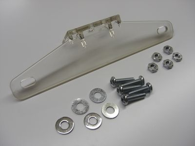 License plate support Plastic, 1/pc